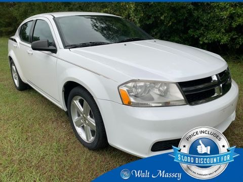 Pre-Owned 2013 Dodge Avenger SE FWD 4D Sedan