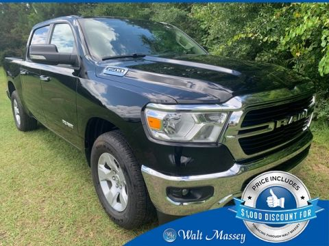 Pre-Owned 2020 Ram 1500 Big Horn/Lone Star RWD 4D Crew Cab