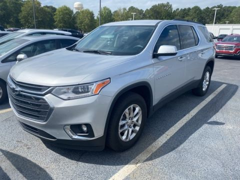 Pre-Owned 2020 Chevrolet Traverse LT FWD 4D Sport Utility