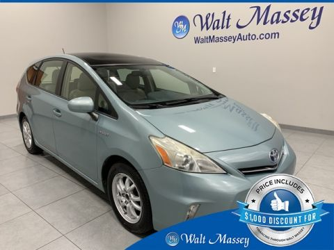 Pre-Owned 2014 Toyota Prius v Two FWD Station Wagon