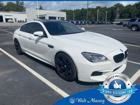 Pre-Owned 2014 BMW M6 Base RWD 4D Sedan